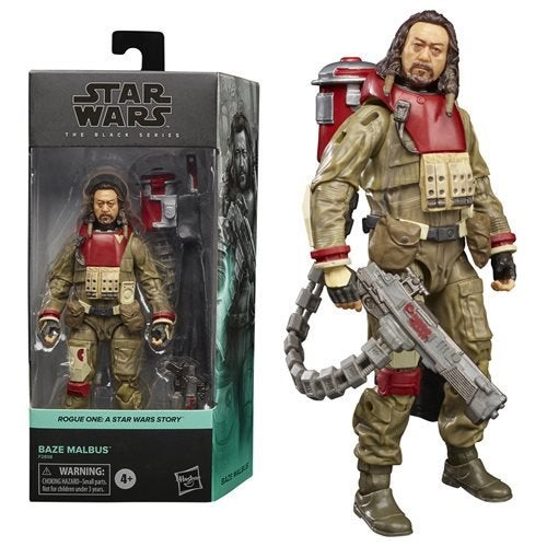 Image of Star Wars The Black Series Rogue One Baze Malbus