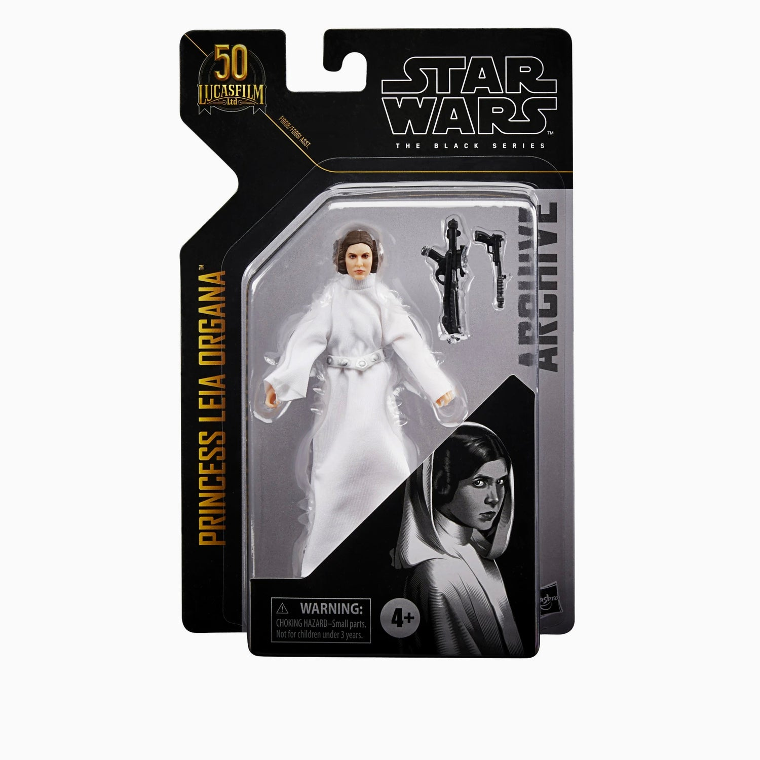 Image of Star Wars The Black Series Archive Princess Leia ANH