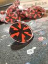 Banzai Speed Swirl - Acrylic Pin