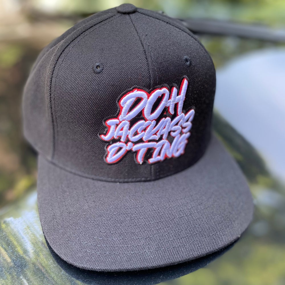 Image of Doh Jackass D' Ting - Snap Back Hat