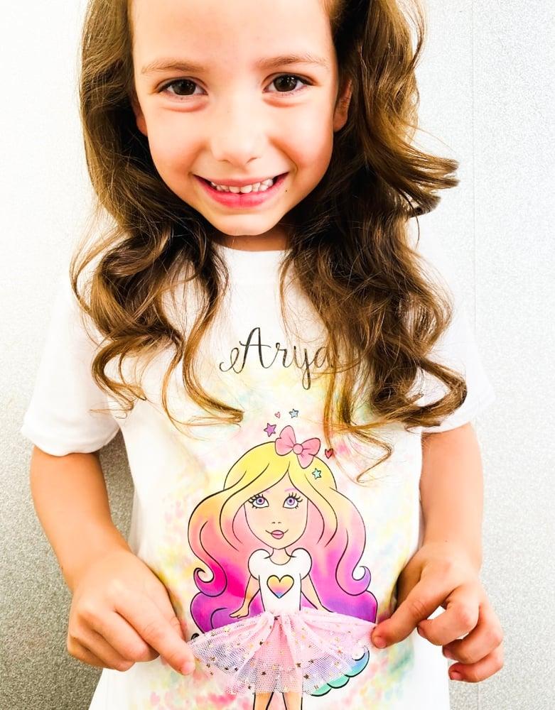 Image of Rainbow Girl T-shirt