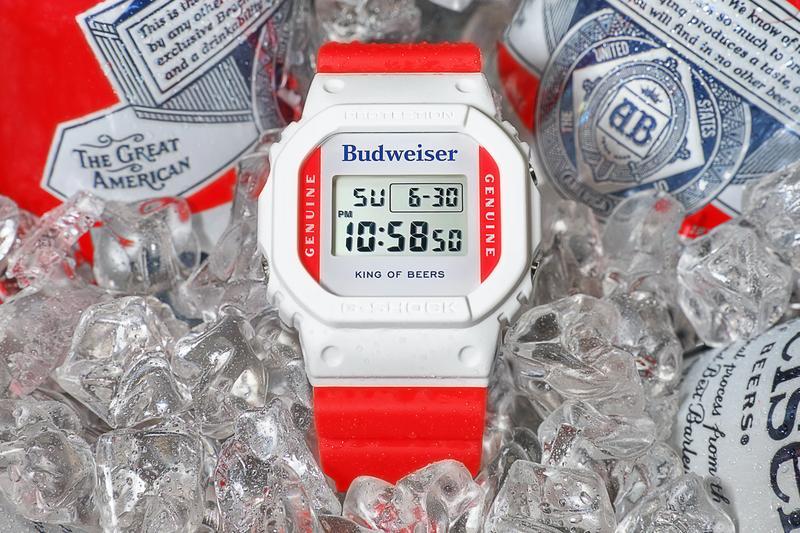Image of Budweiser x G-Shock