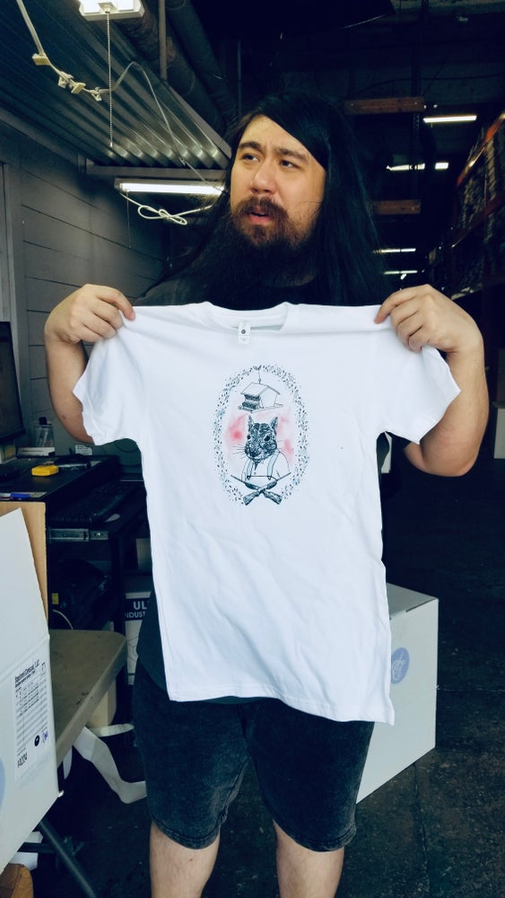 Image of Zachary Zenith Squirrel T-Shirt