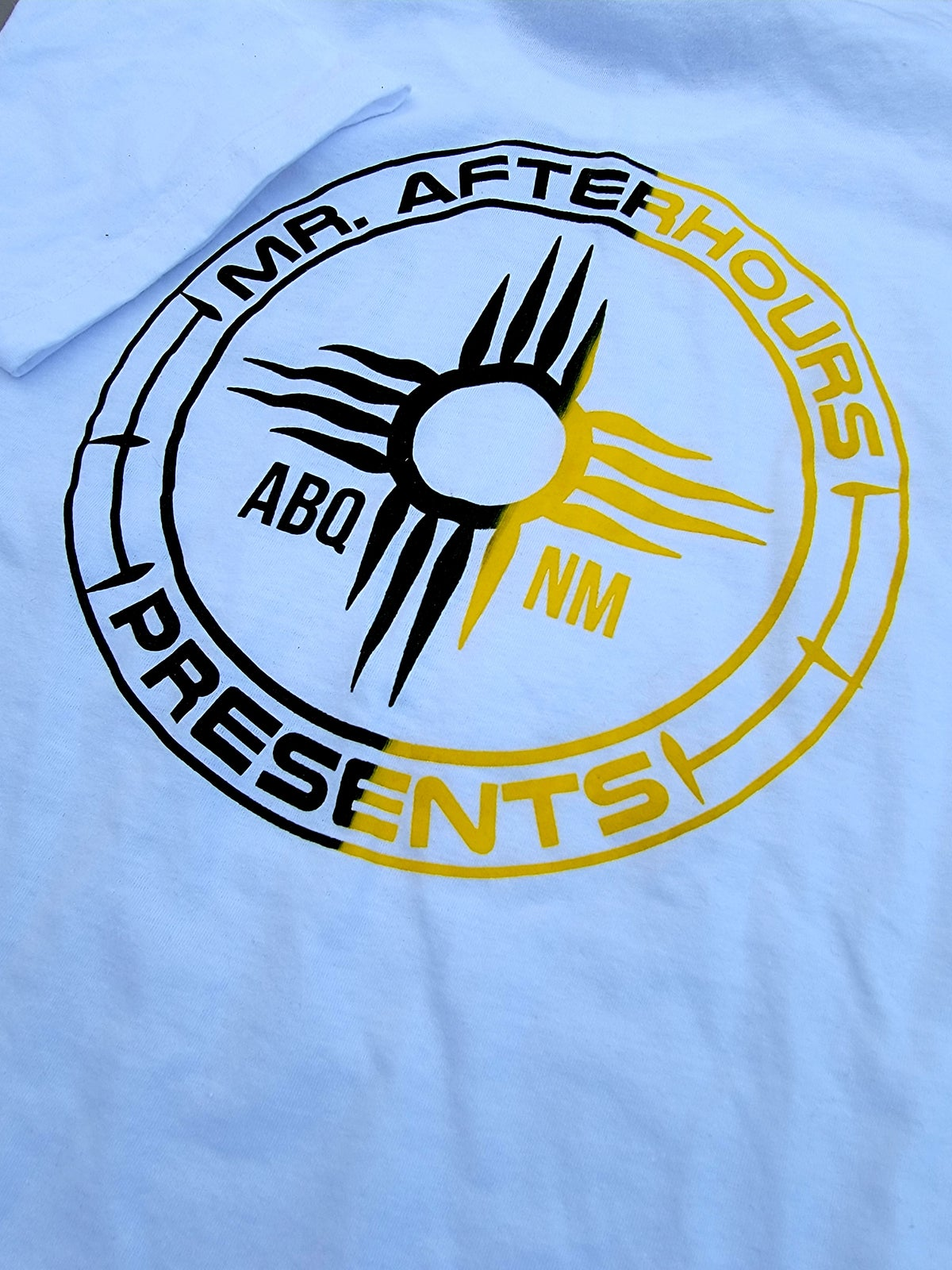 Mr. Afterhours Black and Yellow