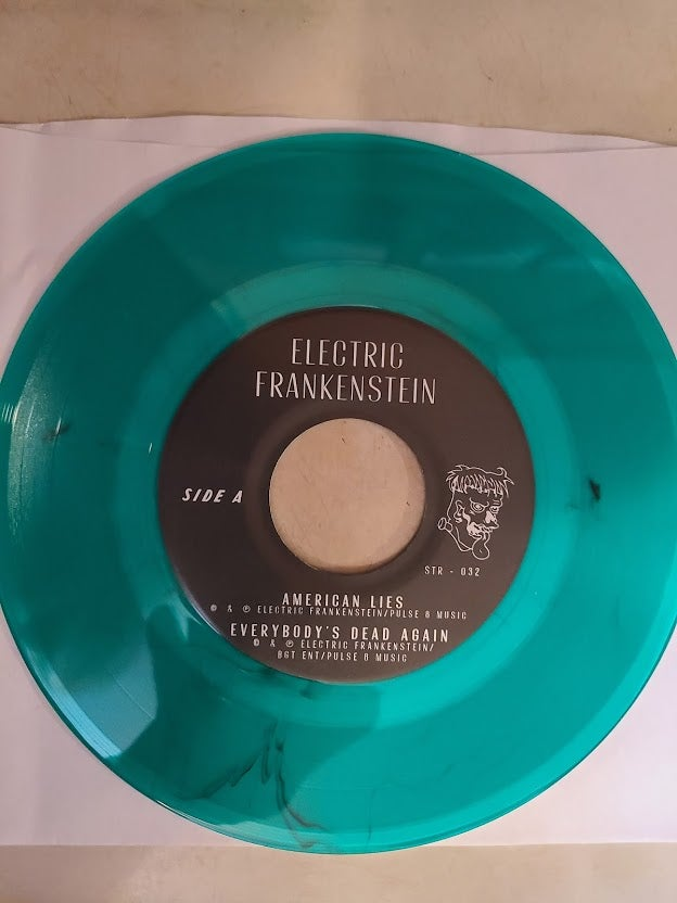 "Electric Frankenstein/The Stripp split 7"""