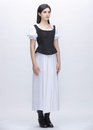 Image of Lady Jane Corset Vest In Cotton