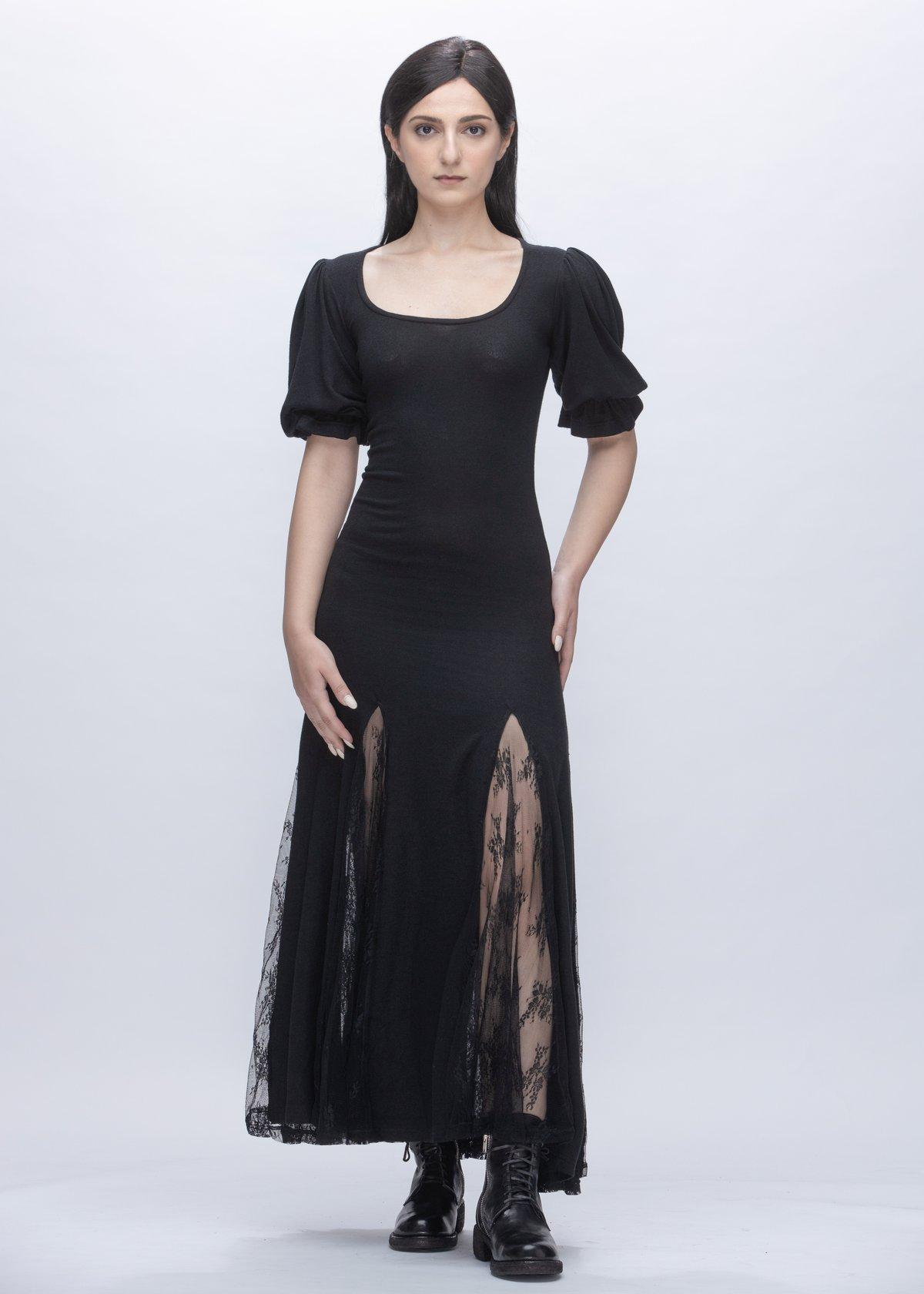 Image of Pamela Embroidered Lace Dress