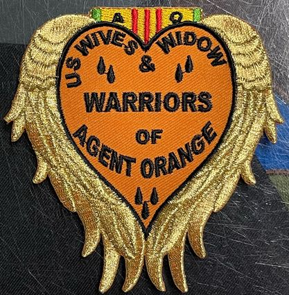 Image of US WIVES AND WIDOW WARRIORS OF AGENT ORANGE PATCH