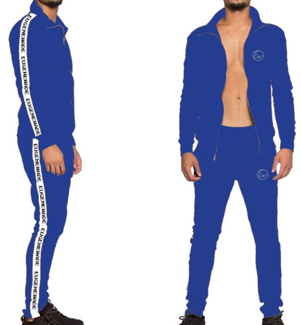 EW TRACKSUITS TOP (Blue)