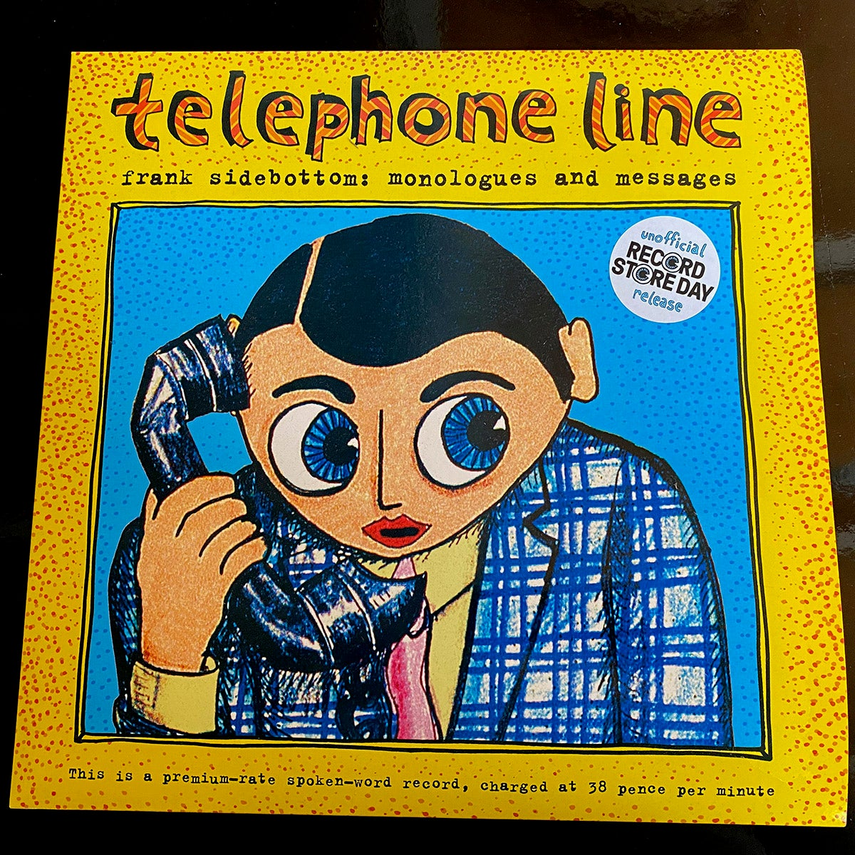 """Image of Record Store Day """"Telephone Line: Monologues and Messages"""" Record Album LTD EDITION"""