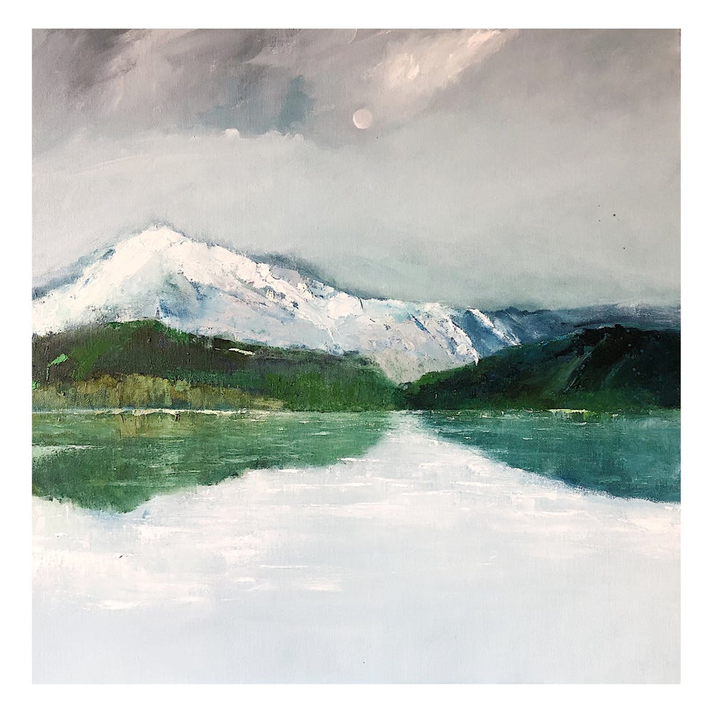 Image of 'The Remarkables' 2021 oil on canvas
