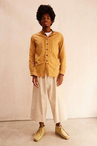 Image of Porter Trouser in Cotton/Linen