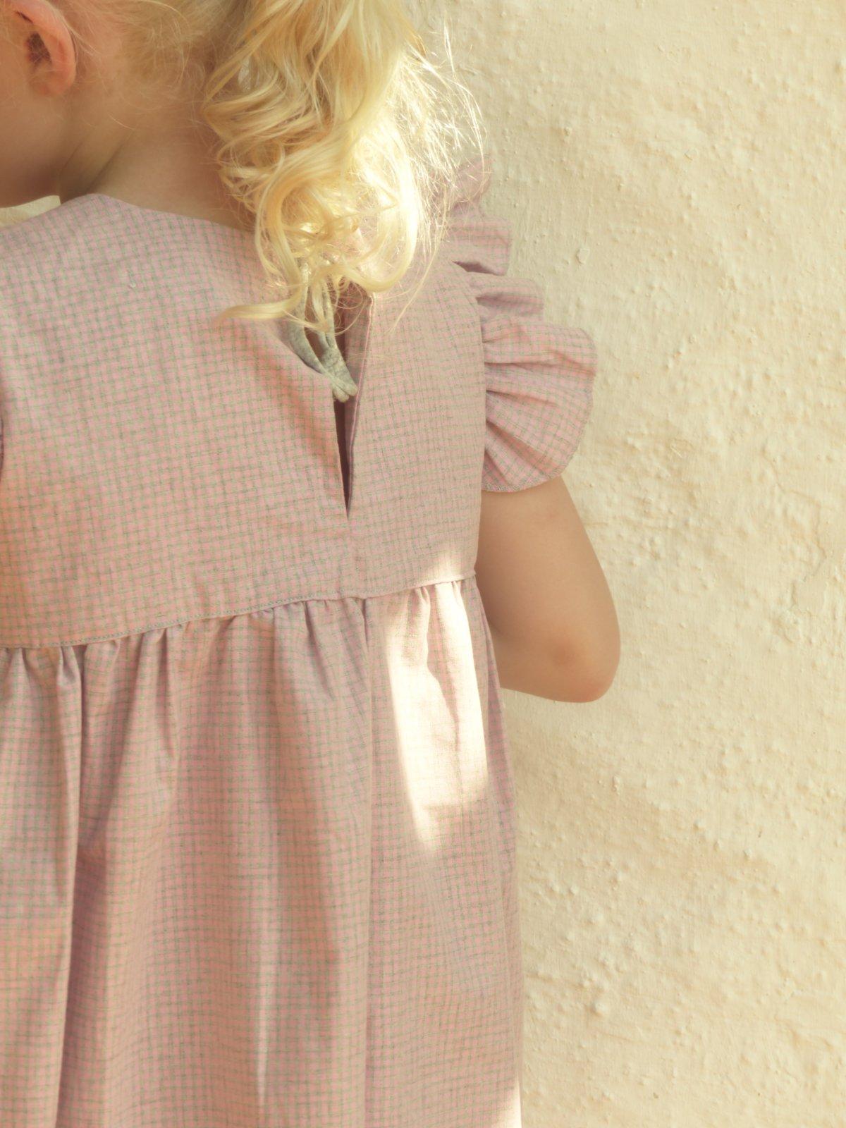 Greta Dress-rose check