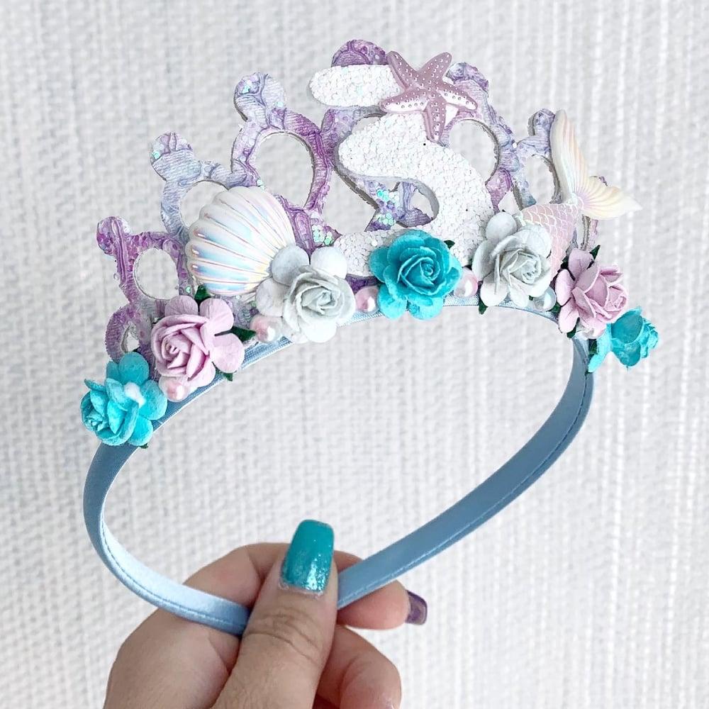 Image of Mermaid forever birthday tiara