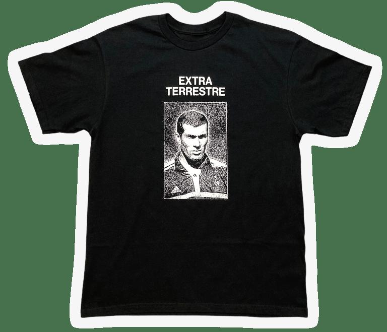 "Image of ""EXTRA TERRESTRE"" T-SHIRT *** BLACK"