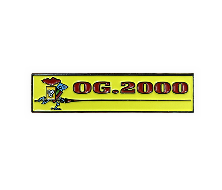 """Image of """"PANINI 2000"""" PIN"""