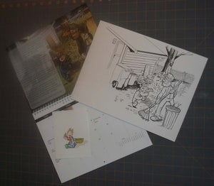 Image of Red Herring Illustration: Daily Life 2011 Calendar