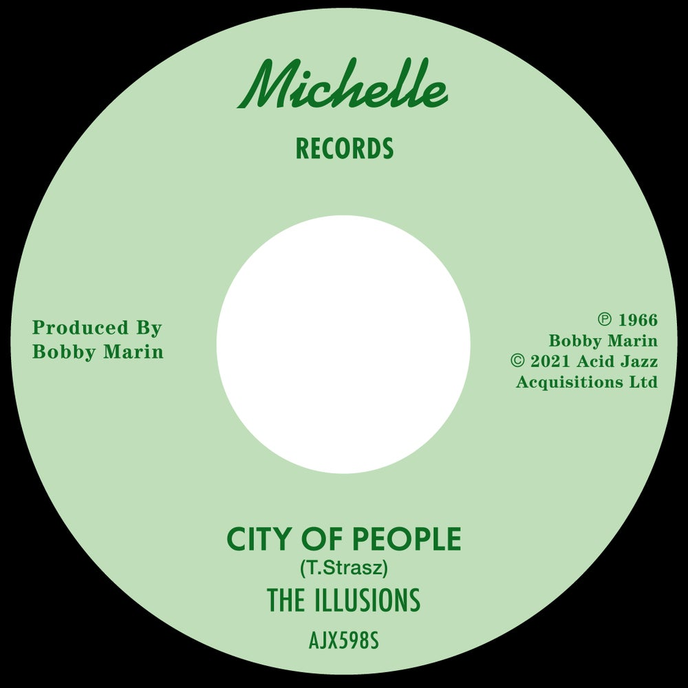 """Image of The Illusions - City Of People / Wait Till The Summer /  7"""" (Pre-Order)"""
