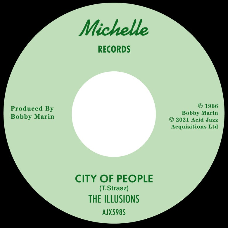 """Image of The Illusions - City Of People / Wait Till The Summer /  7"""""""