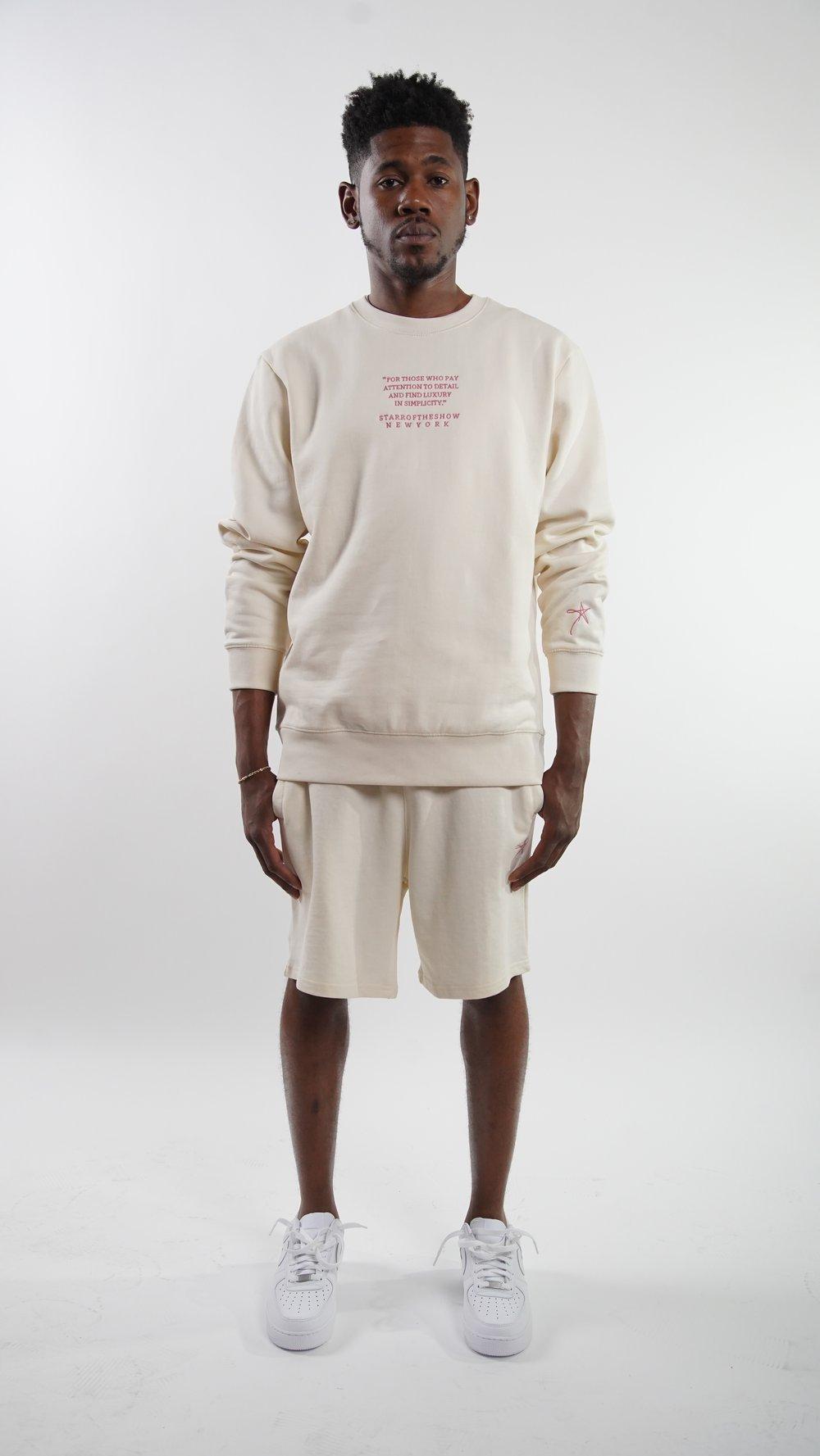 Image of BRAND ID Marshmallow Shorts Set