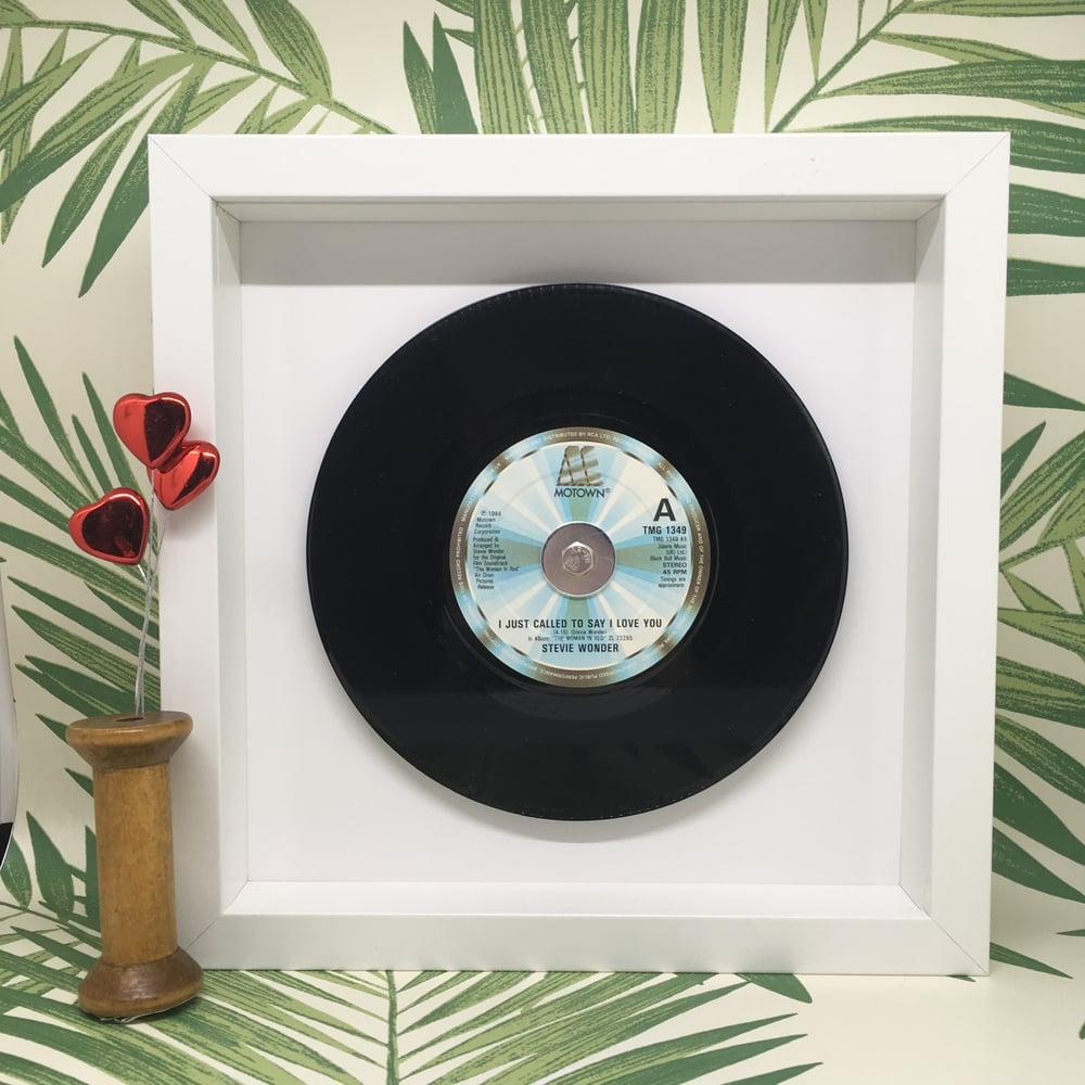 Image of Popular Love Framed 7 inch Vinyl