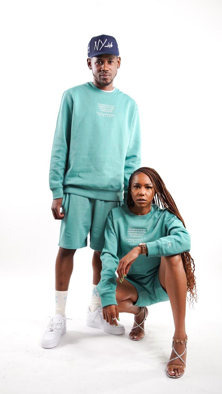 Image of BRAND ID Aqua Shorts Set
