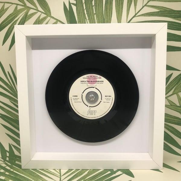 Image of Popular 70's Framed 7 inch Vinyl