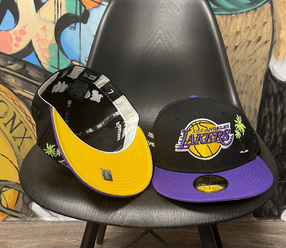Image of LA Lakers Savior- Two Toned YELLOW BOTTOM