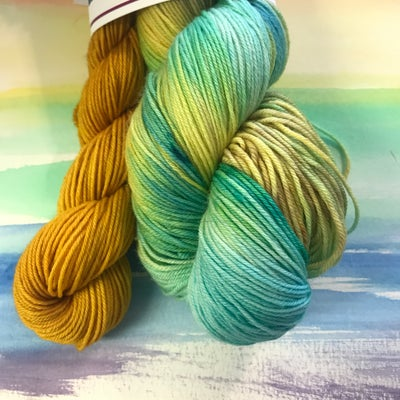 Image of Clouded Winter Whispers - Sock Set