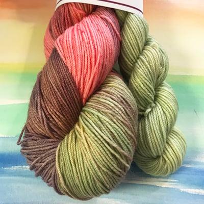 Image of Mushroom Petal Bloom - Sock set