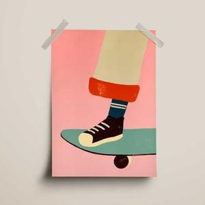Image of Carte Skateboard