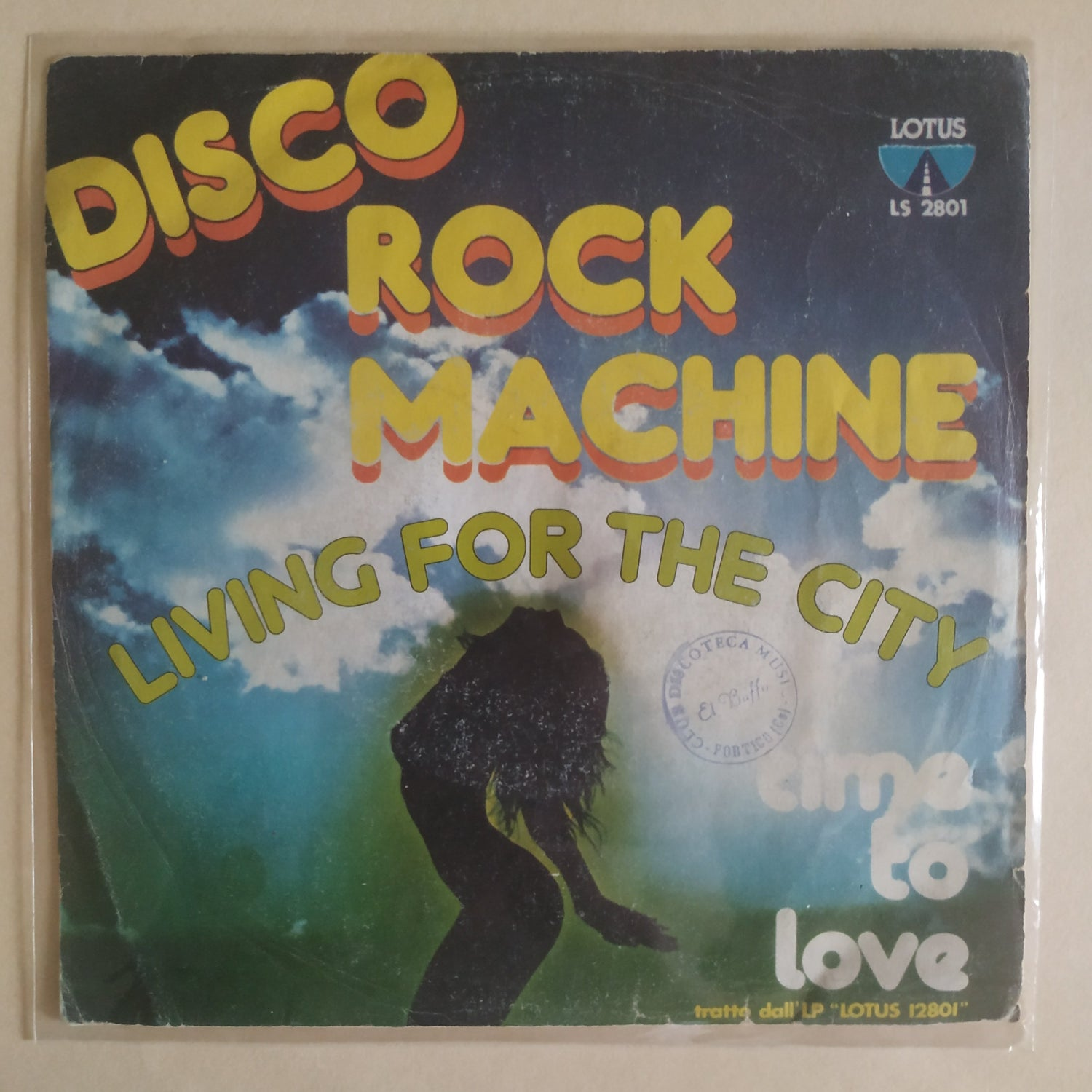 Image of Disco Rock Machine – Time To Love