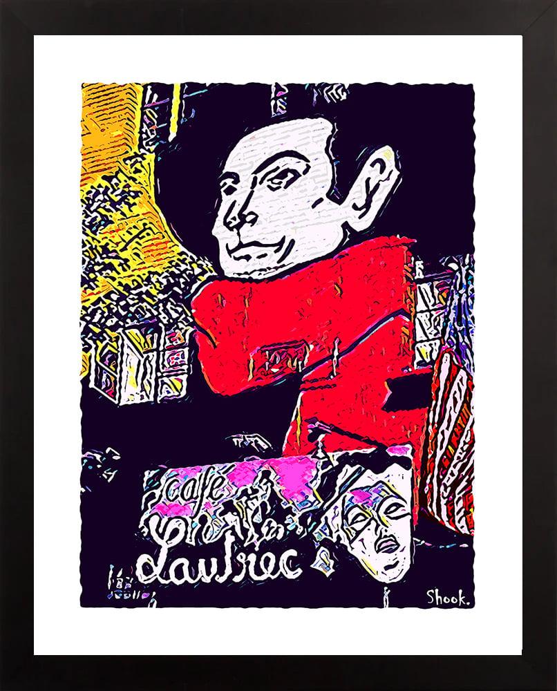 Cafe Lautrec, Washington DC Giclée Art Print (Multi-size options)