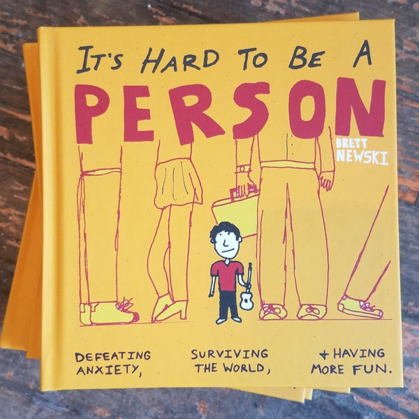 """Image of """"It's Hard to Be a Person"""" Book"""
