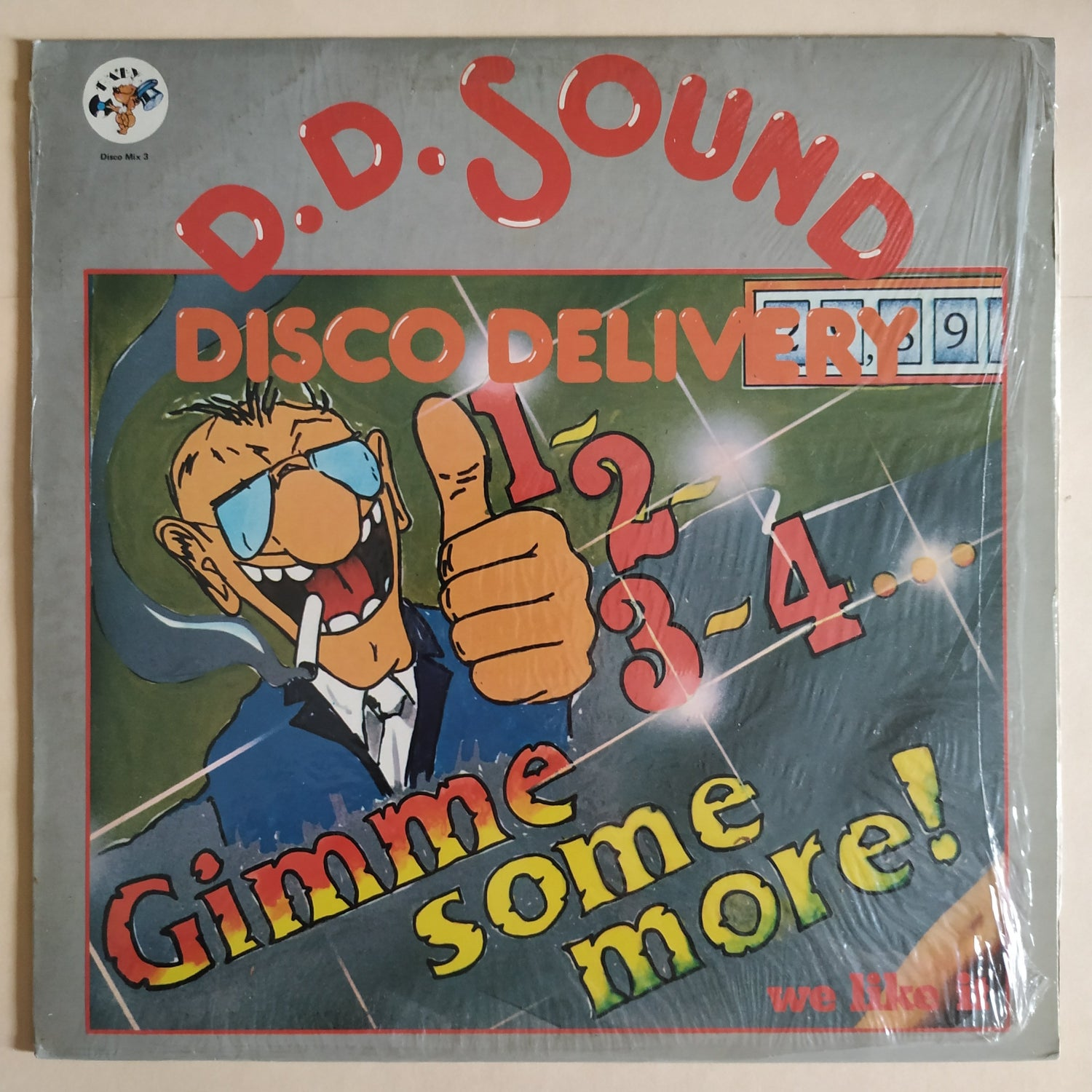 Image of D.D. Sound – 1, 2, 3, 4, Gimme Some More / We Like It