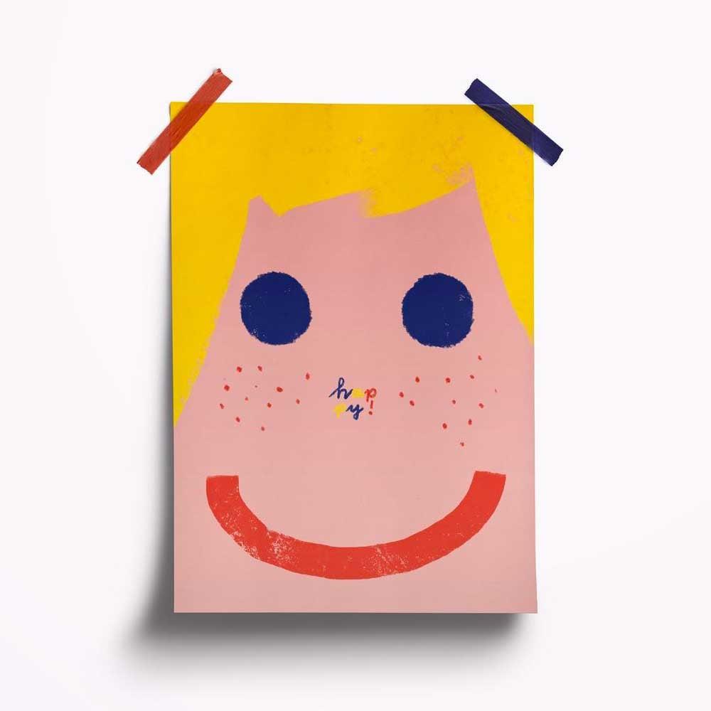 Image of Carte Happy