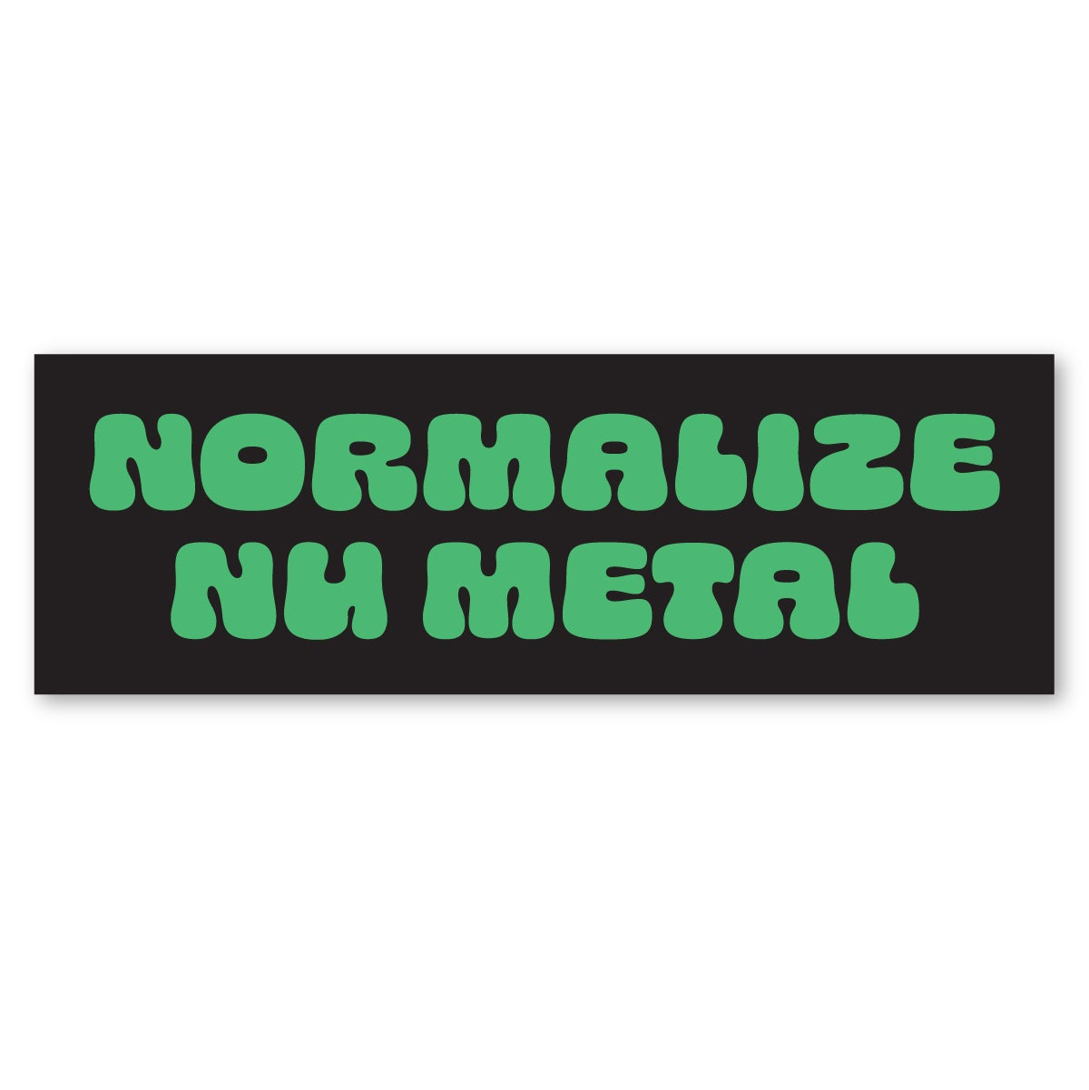 Image of Normalize Numetal Sticker