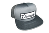 Domain Patch Trucker Hat - Charcoal Gray