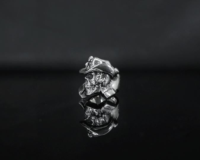 Image of LEGENDS NEVER DIE STERLING SILVER RING