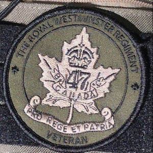 Image of 47th Patch - LIMITED EDITION