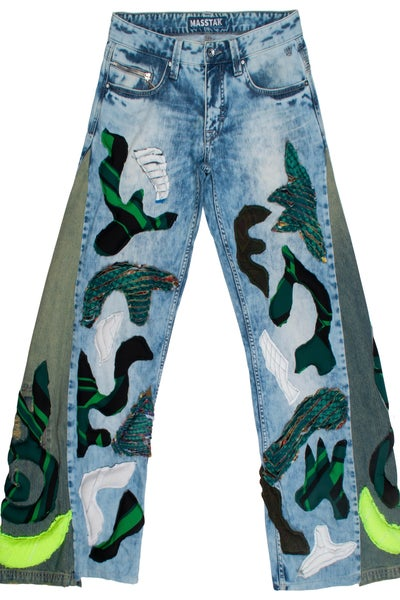 Image of MASSTAK - 3D Abstract Jeans