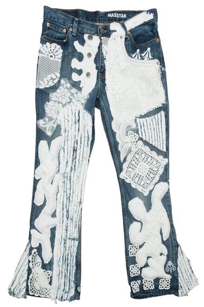 Image of MASSTAK - Levis Lace Jeans