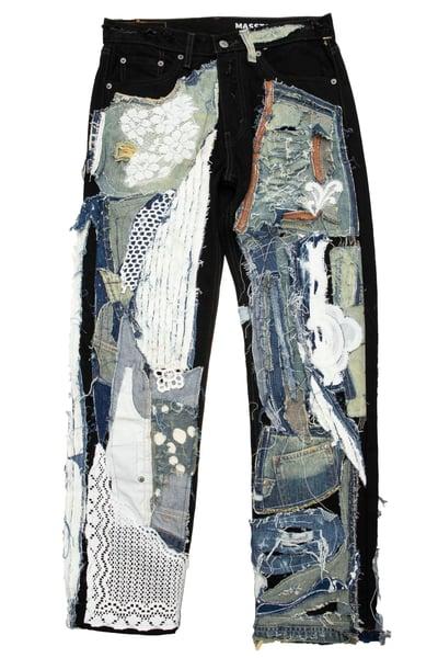 Image of MASSTAK - Levis Patchwork Jeans