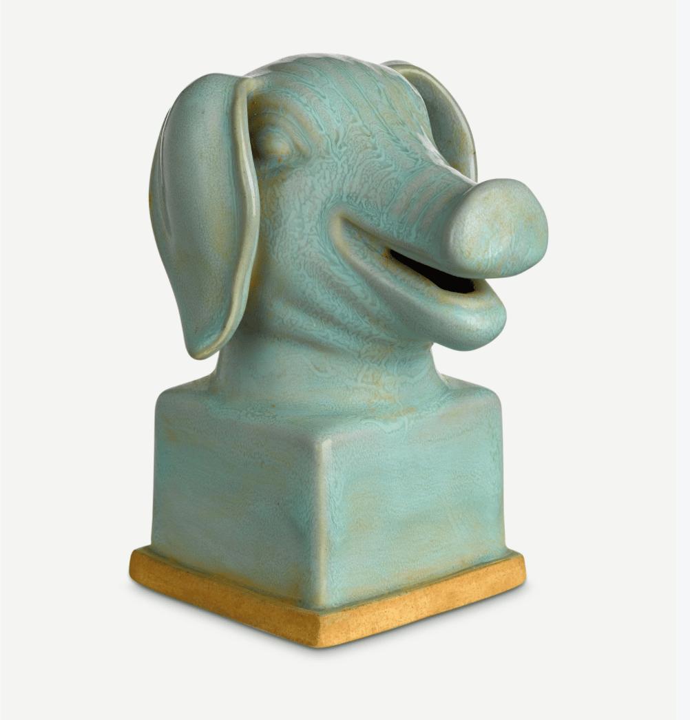 Image of Ceramic Animal Busts