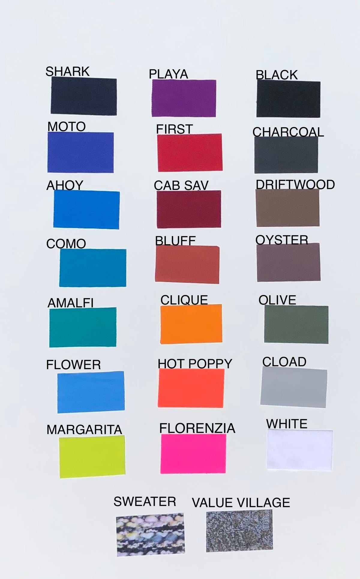 Image of Fabric Swatches