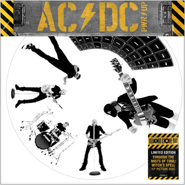 """Image of AC/DC """"Through The Mists of Time"""" / """"Witch's Spell"""""""