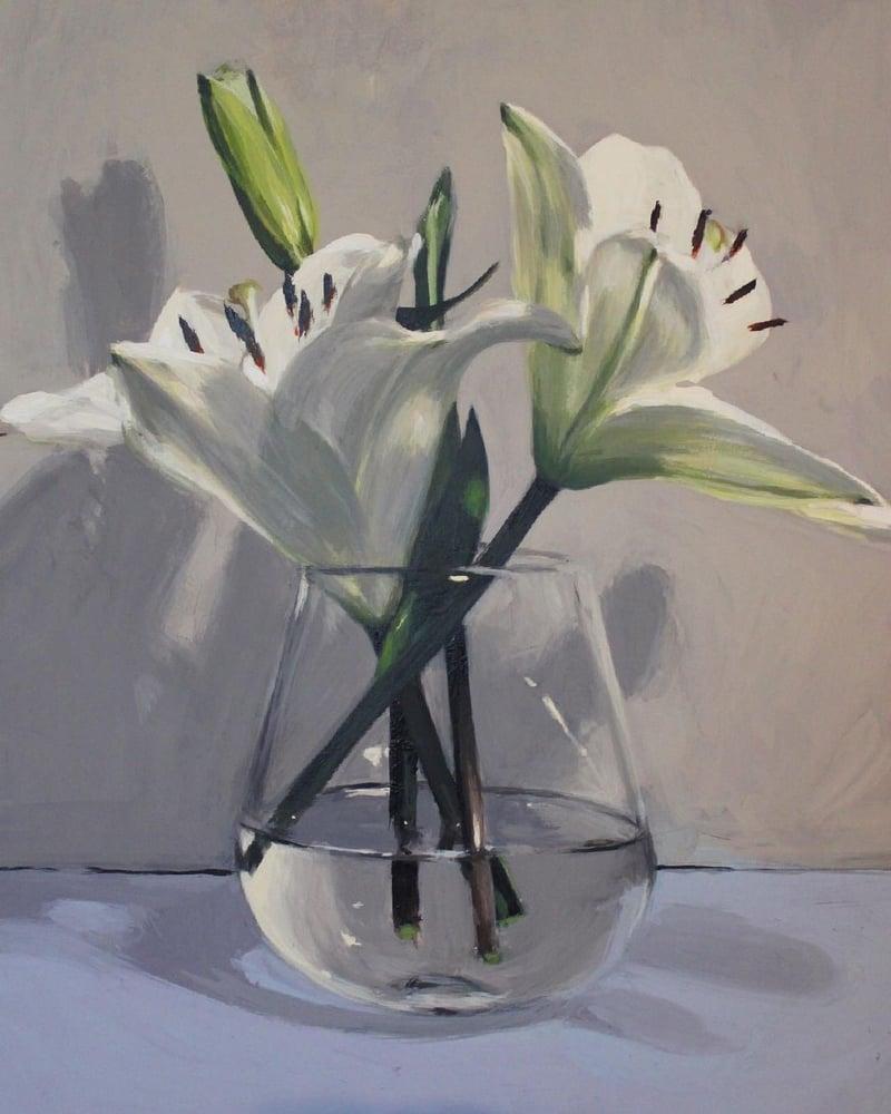Image of Lillies (Original)