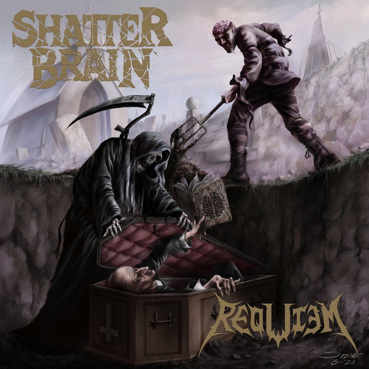 Image of Shatter Brain / Requiem Split Vinyl LP