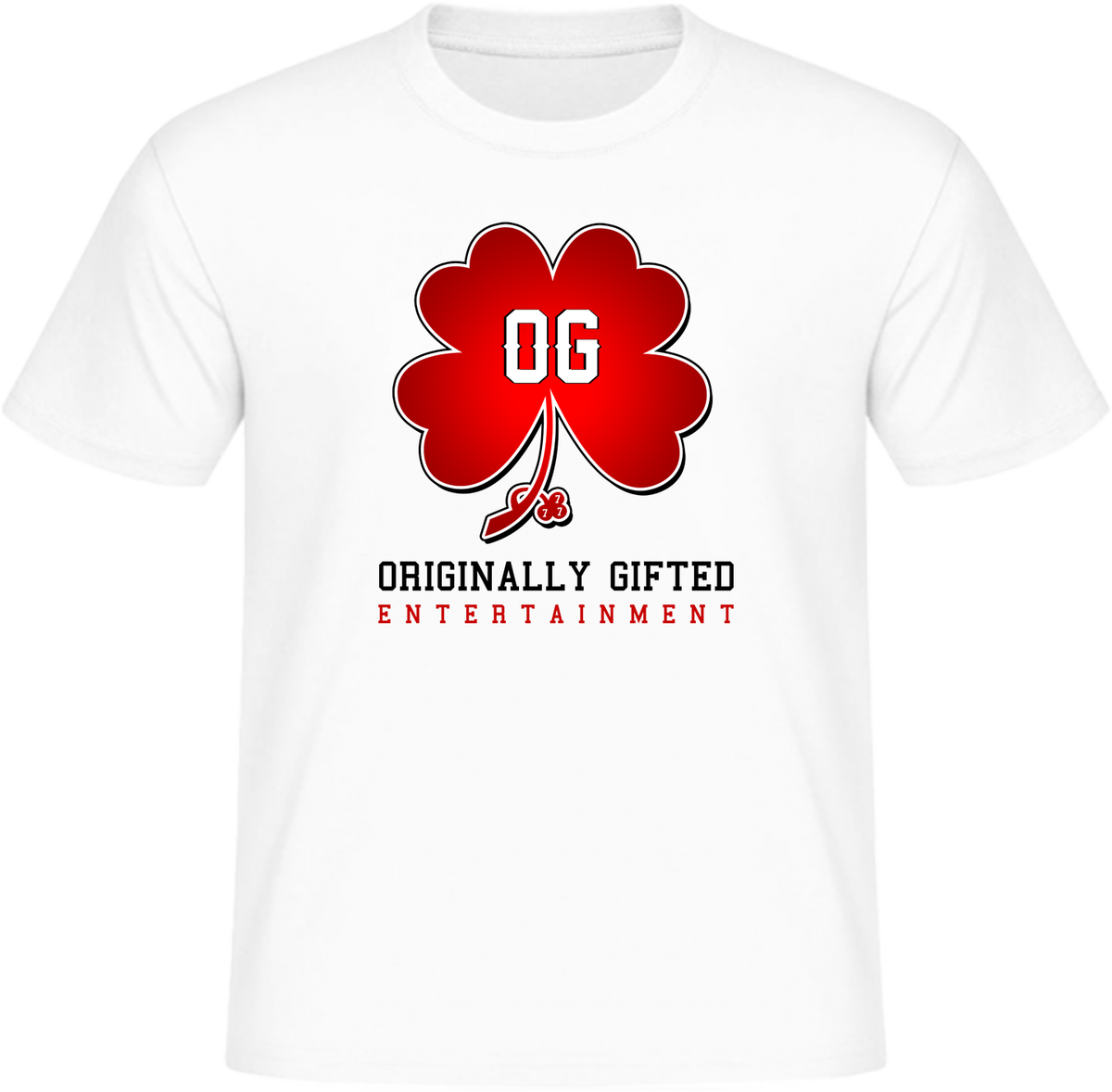 """Image of """"Originally Gifted Ent."""" Branded T-Shirt"""
