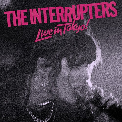 Image of *NEW* The Interrupters - Live in Tokyo LP (pink/black pinwheel)